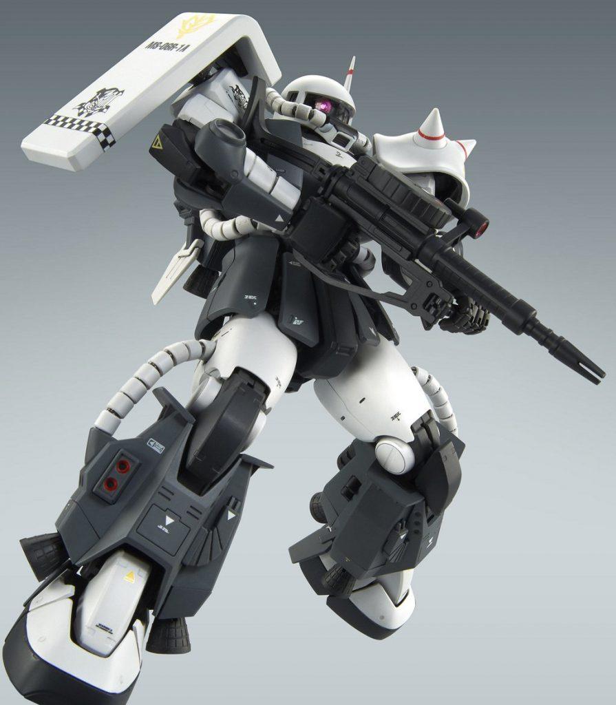 1/100 MG MS-06R-1A エリック・マンスフィールド専用ザクII高価買取!