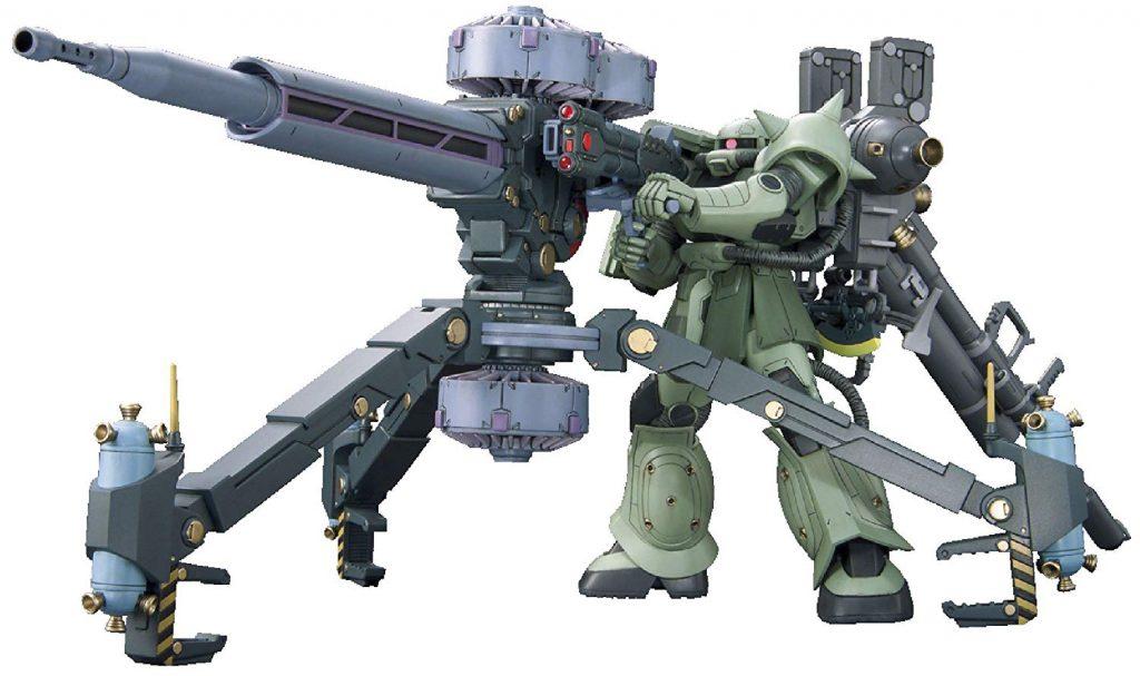 【機動戦士ガンダムサンダーボルト】HG 1/144 量産型ザク+ビッグガン