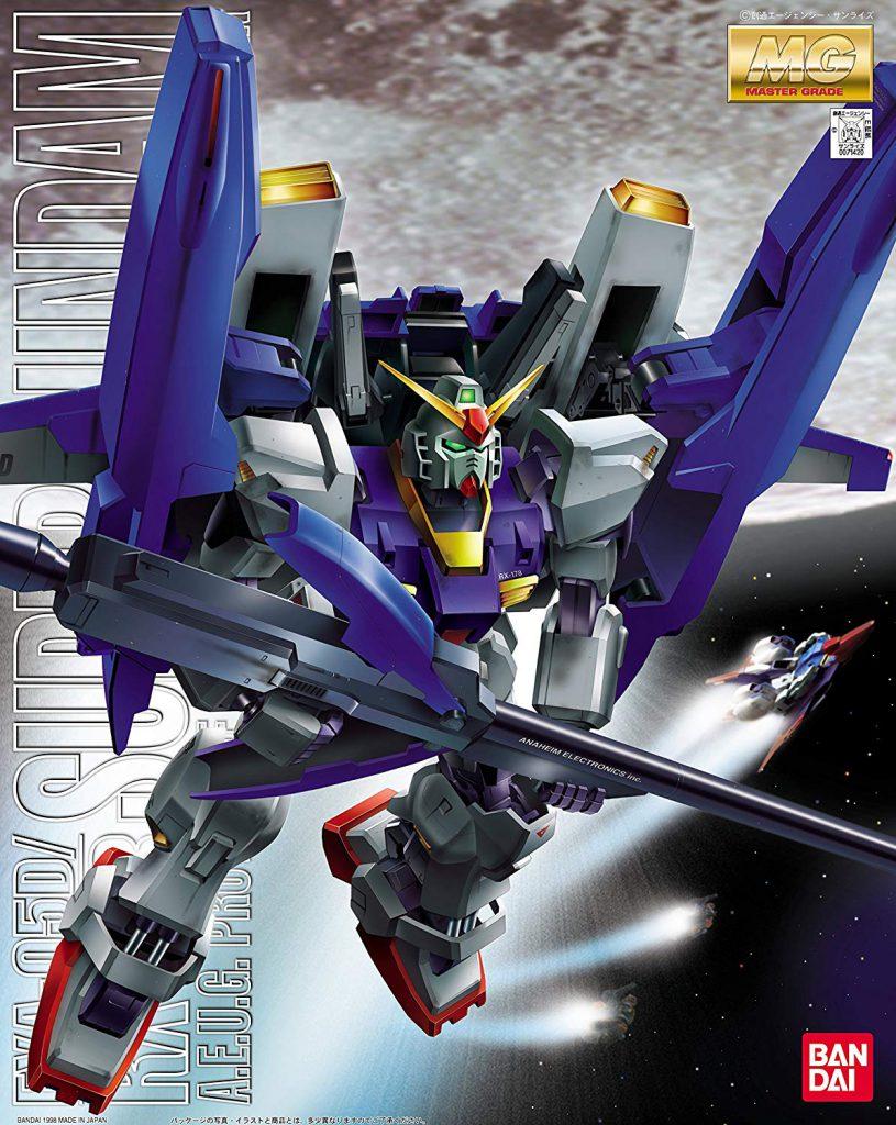 【ガンダム買取情報】MG 1/100 FXA-05D/RX-178 スーパーガンダム【機動戦士Zガンダム】