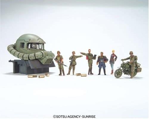 U.C.HARD GRAPH 1/35 ジオン公国軍 機動偵察セット高価買取いたします!【ガンダム買取情報】